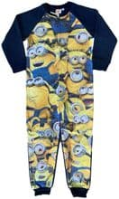 MInions Fleece Onesie All in One Pack of 12 - £4.00 each