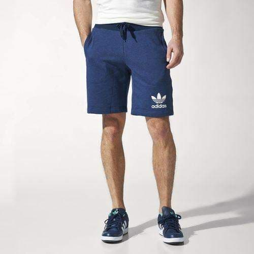 Adidas Originals Essentials Sports Casual Mens Shorts Blue