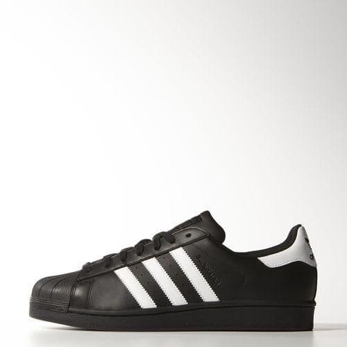 Adidas Originals Superstar Foundation Mens Trainer Shoes Black White