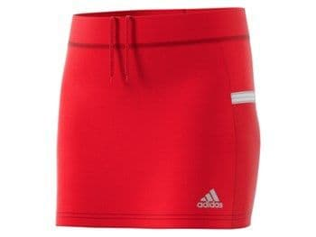 Adidas T19 Youth Girls Teamwear Skort Red