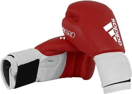Adidas 100 Hybrid Boxing Gloves 14oz Red