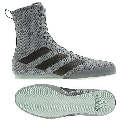 Adidas Box Hog 3 Grey Green Mens Boxing Shoes Boots