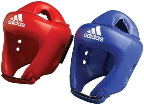 Adidas Boxing Rookie Headguard Small Red