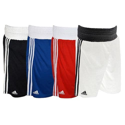 Adidas Boxing Shorts Small Red