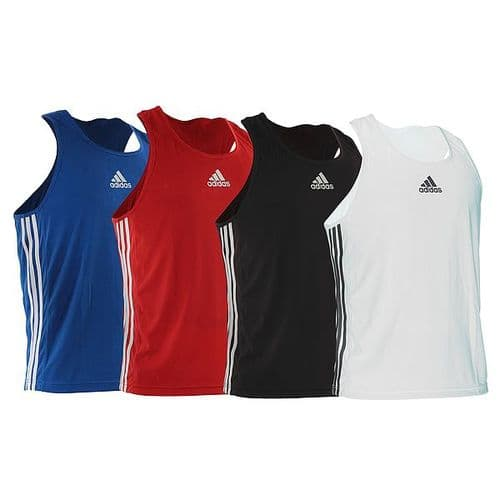 Adidas Boxing Vest Small Red