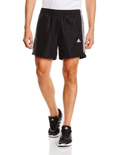 Adidas Essentials Men's Chelsea Running Training Shorts Black/White