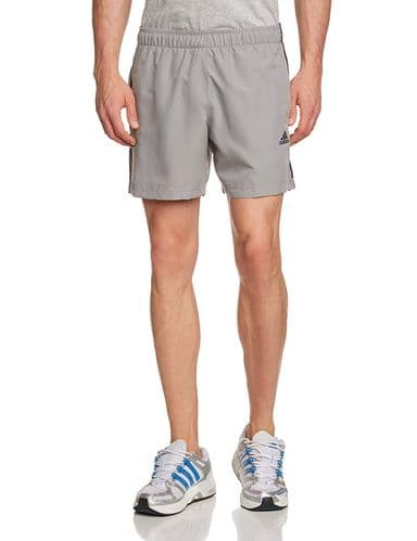 Adidas Essentials Men's Chelsea Running Training Shorts Grey