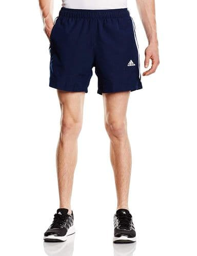 Adidas Essentials Men's Chelsea Running Training Shorts Navy Blue