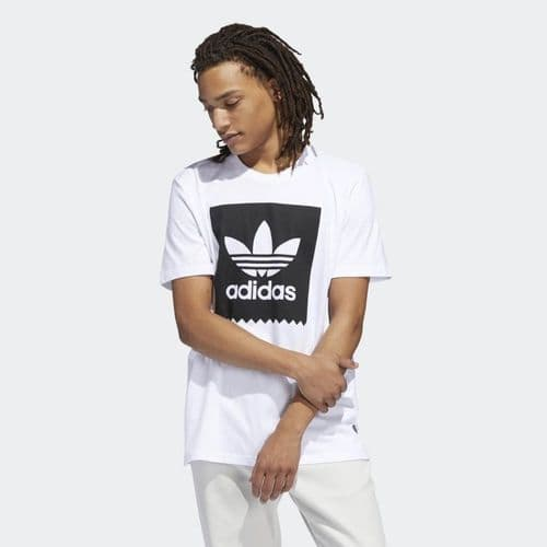 Adidas Originals Blackbird Solid Tee Mens T-Shirt White