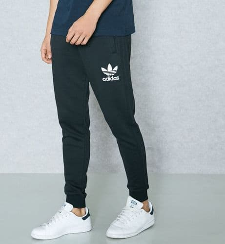 Adidas Originals California Trefoil Sweat Pant Training Jog Trouser Black