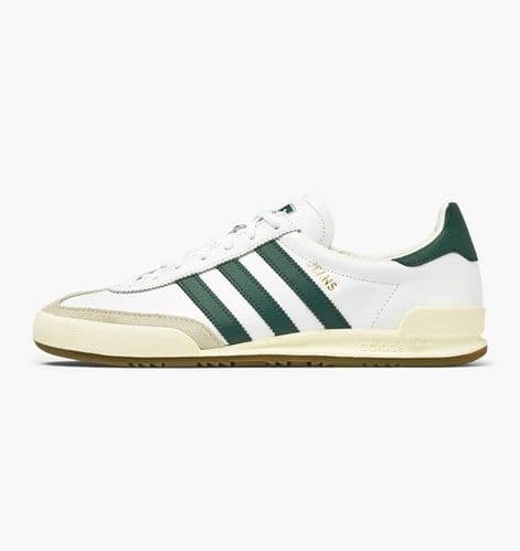 Adidas Originals Jeans Men's Sports Casual Trainer Shoes White Green