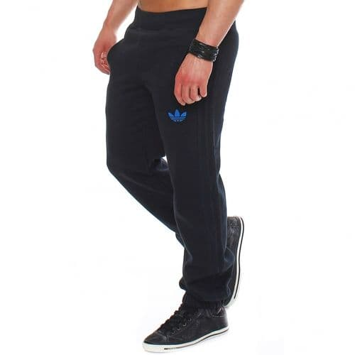 Adidas Originals SPO Mens Fleece Jog Track Pant Trousers Black