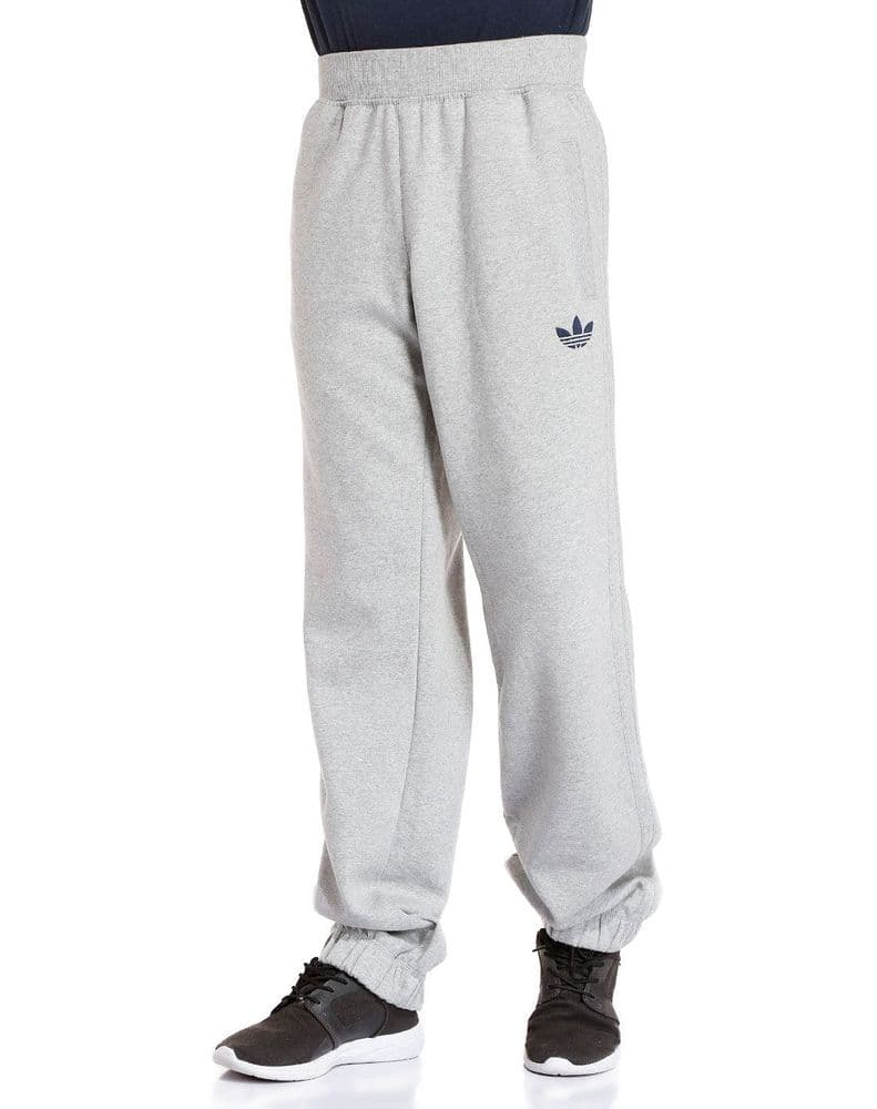 Adidas Originals SPO Mens Fleece Jog Track Pant Trousers Heather Grey