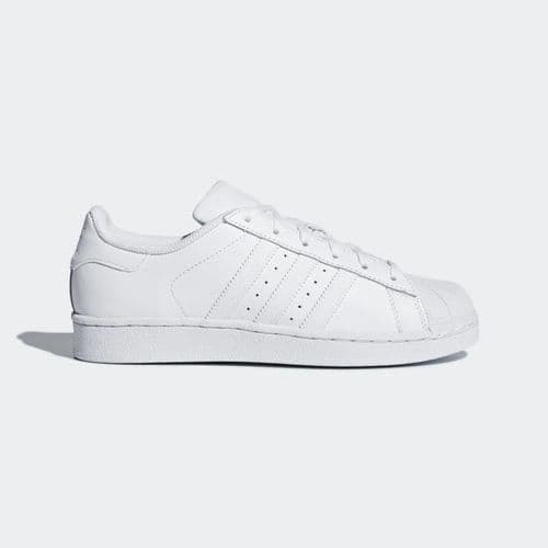 Adidas Originals Superstar Foundation Kids Junior Sneaker Sports Casual Trainer Shoes White