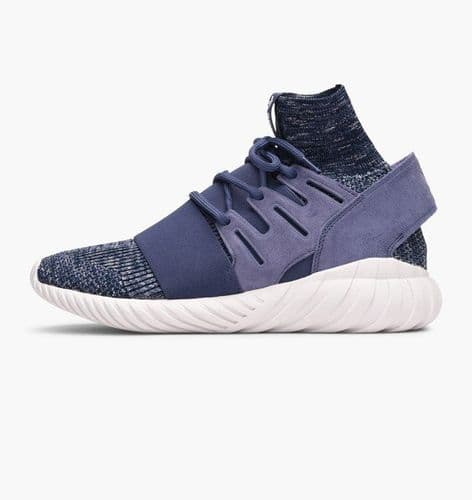 Adidas Originals Tubular Doom Prime Knit Mens Sports Casual Trainer Shoes Purple