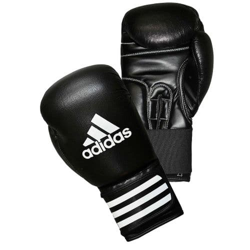 Adidas Performer Leather Boxing Gloves 12oz Black