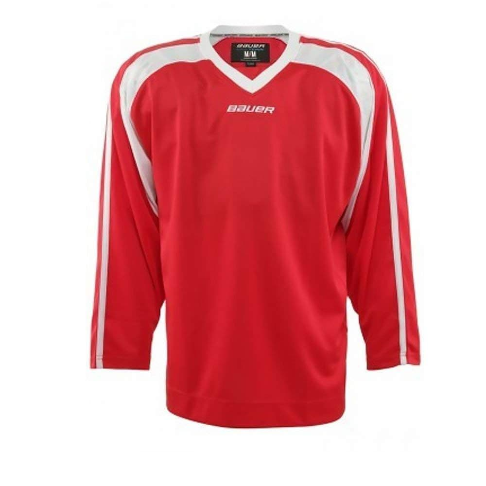 Bauer Ice Hockey 600 Premium Training Jersey Red