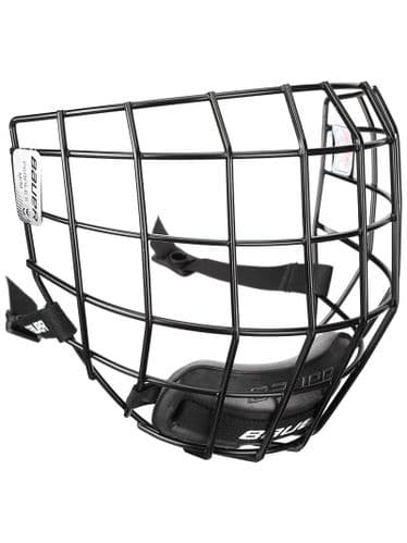 Bauer Ice Hockey Profile II Helmet Cage Facemask Silver