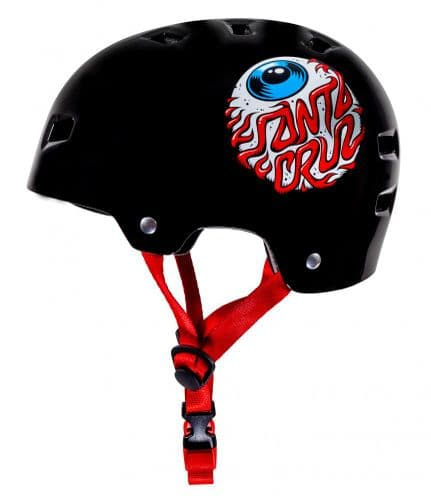 Bullet x Santa Cruz Skating Helmet Eyeball Youth