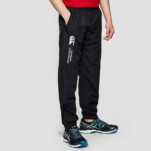 Canterbury Cuffed Close'em Junior Kids Stadium Pant Trouser Bottom Black