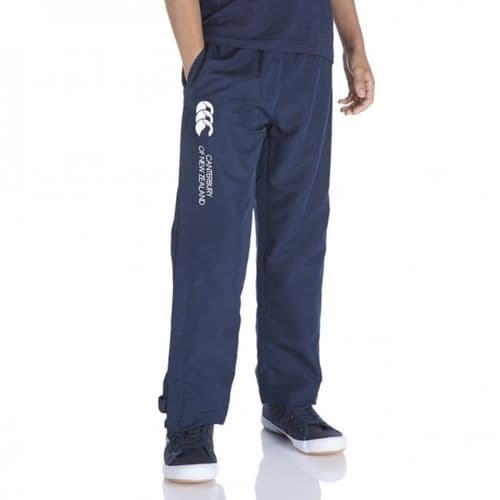 Canterbury Open 'em Junior Kids Stadium Pant Trouser Bottom Navy