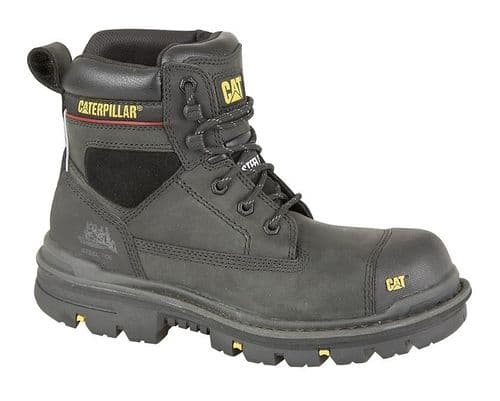 Caterpillar Gravel S3 Mens Outdoor Industrial Safety Boots Black