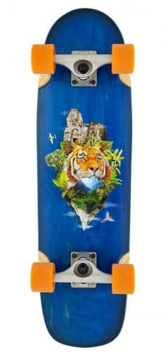 D Street Cruiser Tropical Complete Skateboard