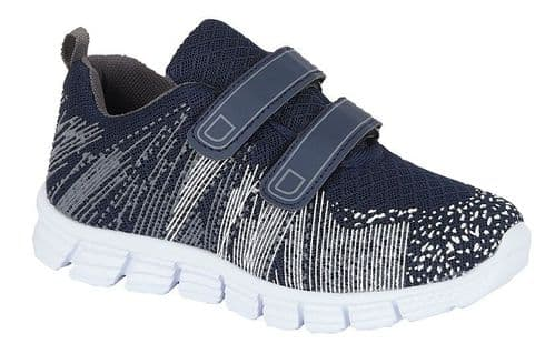 Dek Shard Superlight Kids Boys Sports Casual Trainer Shoes Navy Grey