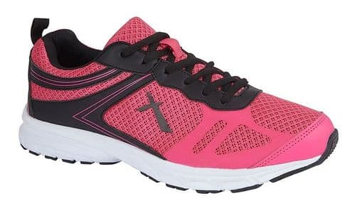 Dek Starling Womens Sports Running Trainer Shoes Pink