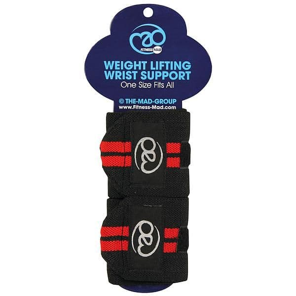 Fitness Mad Weightlifting Support Wraps