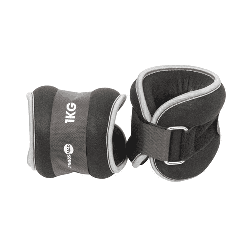 Fitness Mad  Wrist/Ankle Weights 2 x 1kg