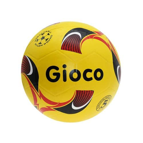 Gioco Moulded Football5 Yellow