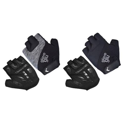 GloveGlu Gel Ride Half Finger Fitness Cycle Gloves