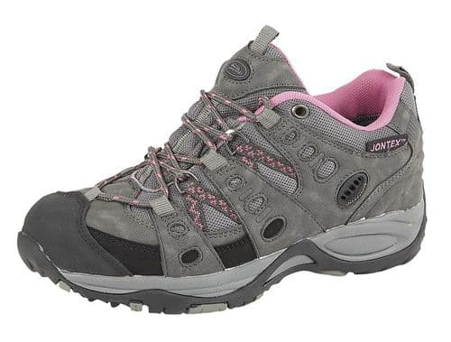Johncliffe Cascade Womens Trek & Trail Outdoor Womens Boots Grey Pink