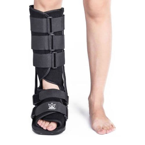 Kingdom GB Fixed Walker Fracture Medical Surgical Ankle Brace Leg Injury Support Protective Boot