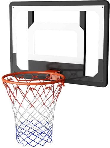 Kingdom GB Jumpshot Door Wall Mount Portable Basketball Backboard Hoop Ring & Net