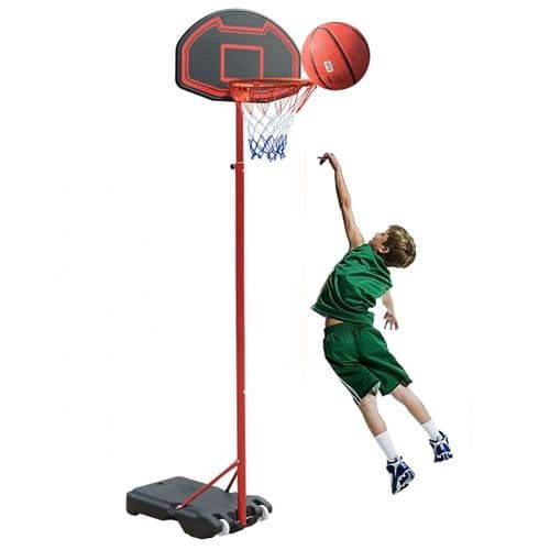 Kingdom GB Phat Slam II Portable Basketball Stand Net Hoop Backboard Adjustable On Wheels