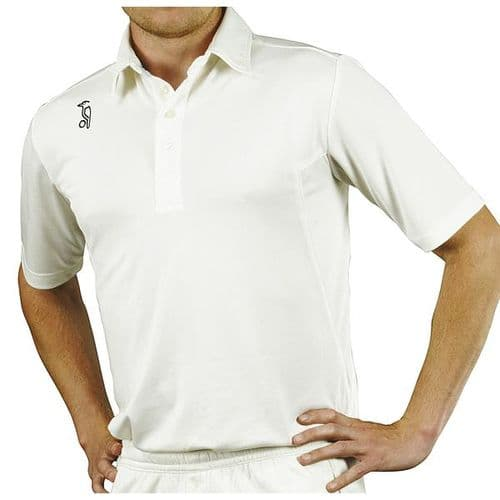 Kookaburra Pro Player Short Sleeve Cricket Shirt Junior 10 Years