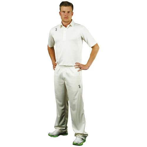 Kookaburra Pro Player Short Sleeve Cricket Shirt Medium