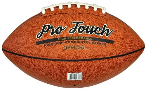 Midwest Pro Touch American Football Official Dark Tan