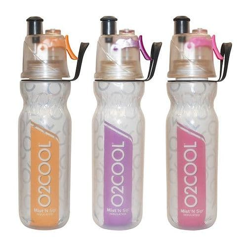Mist 'N Sip Insulated Fitness Water Bottle