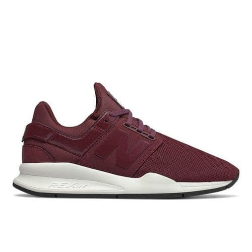 New Balance 247 v2 Womens Running Trainer Shoes Burgundy
