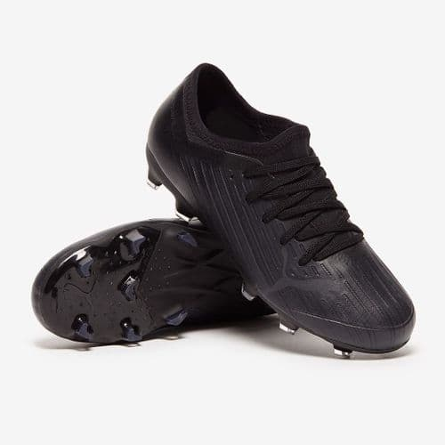 Official Puma Ultra 4.1 Junior Kids Football FG/AG Boots Black