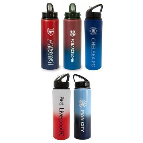 Official Team Merchandise Football Aluminium Drink Water Bottle 750ml