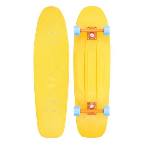 Penny High Vibe 32 Complete Cruiser Skateboard Yellow/Blue 32 IN