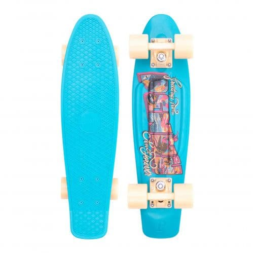 Penny Postcard Coastal 22 Complete Cruiser Skateboard Blue 22 IN