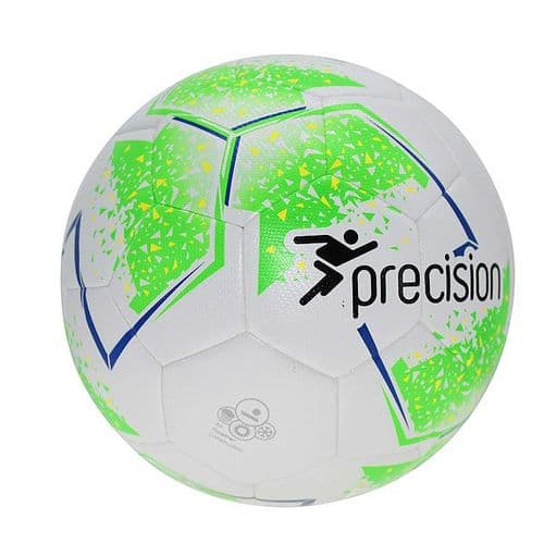 Precision Fusion Sala Futsal Ball4 White/Fluo Green/Fluo Yellow/Blue
