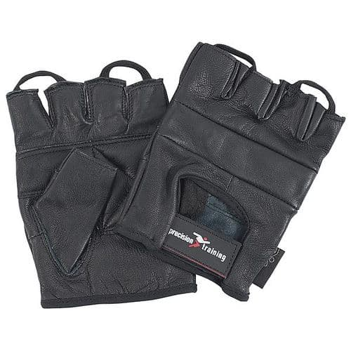Precision Mesh Back Fitness Weightlifting Gloves