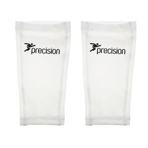 Precision Pro Matrix Shinguard Sleeves  Small /Medium /Large   Black/Chrome -White/Black