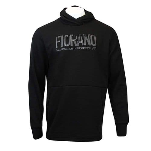 Puma Ferrari Fiorano Circuit Motorsport Mens Fleece Hoodie Sweatshirt Black